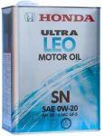 Масло моторное Honda Ultra LEO SN/GF-5 0W20 4л