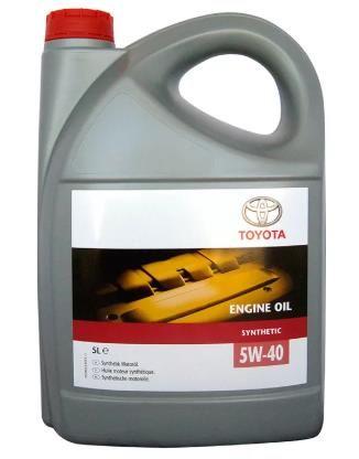 Масло моторное TOYOTA 5W40 SM/CF 5 л синт.
