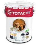 Масло моторное TOTACHI Grand Touring SN Синтетика 5W40 20л