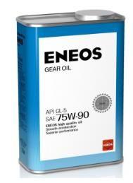 Трансмиссионное масло Eneos GEAR GL-5 75w90 0.94л