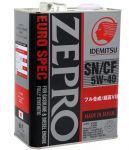 Моторное масло IDEMITSU ZEPRO EURO SPEC  5W40 4л