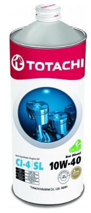 Моторное масло Totachi Eco  Diesel  Semi-Synthetic  CI-4/CH-4/SL 10W-40, 1л