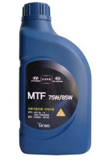 Масло трансмиссионное Hyundai/Kia MTF SAE 75W/85W GL-4 1L