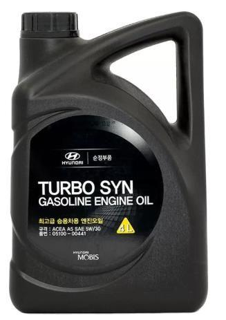 Масло моторное HYUNDAI/KIA Turbo SYN Gasoline 5W30 4л