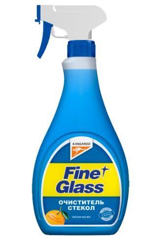 Очиститель стекол ароматизированный Fine Glass 500мл