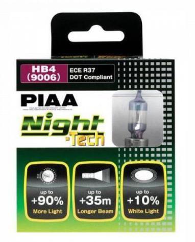 Лампы PIAA BALB NIGHT TECH 3600K (HВ4) 2шт