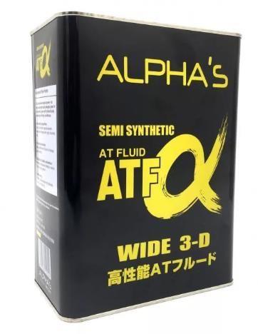 Масло трансмиссионное SUMICO (ALPHAS)  ATF-A 4л