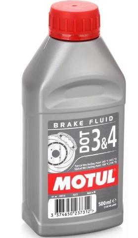 MOTUL тормозная жидкость  DOT 3/4 BF FL 0,5л
