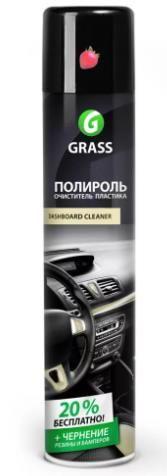"""Полироль-очиститель пластика """"GRASS"""" Dashboard Cleaner (750 мл) (клубника)"""
