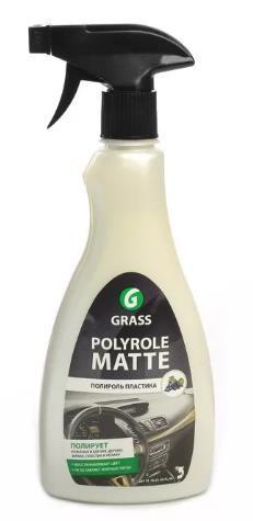 """Полироль панели """"GRASS"""" Polyrol Matte (500 мл) (триггер) (матовая)"""