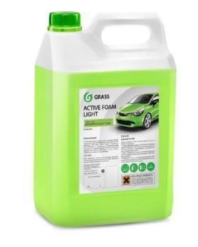 """Автошампунь для бесконтактной мойки """"GRASS"""" Active Foam Light (5 кг) (пена)"""