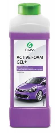 """Автошампунь для бесконтактной мойки """"GRASS"""" Active Foam Gel+ (1 кг) (пена)"""