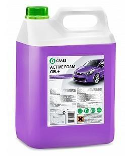 """Автошампунь для бесконтактной мойки """"GRASS"""" Active Foam Gel+ (6 кг) (пена)"""