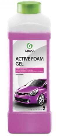 """Автошампунь для бесконтактной мойки """"GRASS"""" Active Foam Gel (1 кг)"""