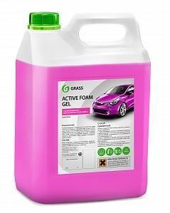 """Автошампунь для бесконтактной мойки """"GRASS"""" Active Foam Gel (6 кг)"""