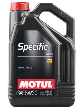 Моторное масло MOTUL  Specific RN 0720 5W 30, 5л