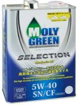 Моторное масло MOLY GREEN SELECTION SN/CF 5W40 (4л)