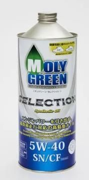 Моторное масло MOLY GREEN SELECTION SN/CF 5W40 (1л)