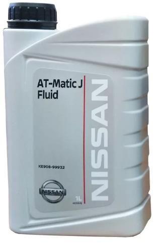 Жидкость для АКПП NISSAN ATF Matic J 1л