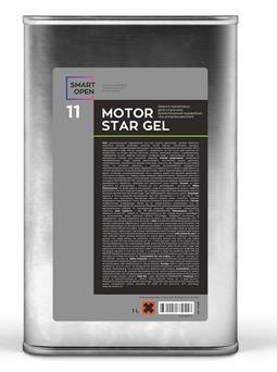 MOTORSTAR GEL 11 -диэлектрический гидрофобный гель концентрат для мойки двигателя, 5л.
