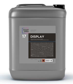 Обезжириватель для стекла, DISPLAY 17, 5л