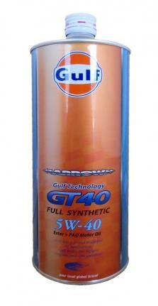 Моторное масло GULF Arrow GT 40 SAE 5W-40 (1л)
