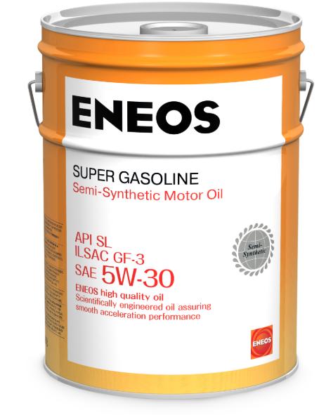 Масло моторное ENEOS Super Gasoline SL п\синт 5W30 20л