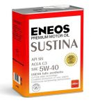 Масло моторное ENEOS SUSTINA SN Синтетика 5W40 4л