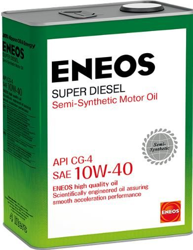 Масло моторное ENEOS Super Diesel CG-4 п\синт 10W40 4л