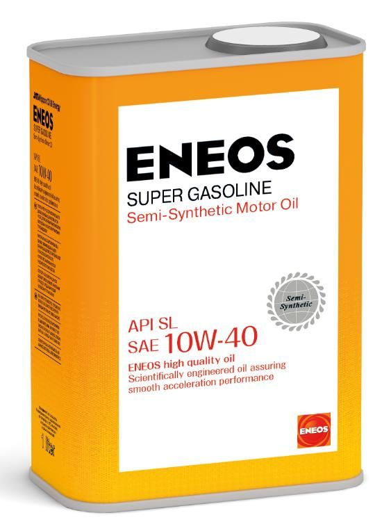 Масло моторное ENEOS Super Gasoline SL п\синт 10W40 1л