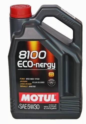 Моторное масло MOTUL 8100 Eco nergy 5w30, 4л