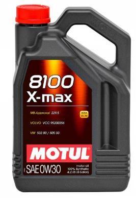 Моторное масло MOTUL 8100 X MAX 0w30, 4л
