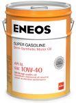 Масло моторное ENEOS 10W40 Super Gasoline SL п\синт , 20 л