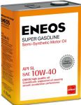 Масло моторное ENEOS Super Gasoline SL 10W40 4л