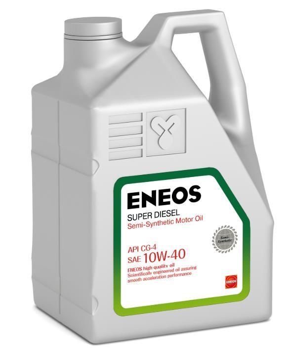 Масло моторное ENEOS 10w40 Super Diesel CG-4 п\синт 6л