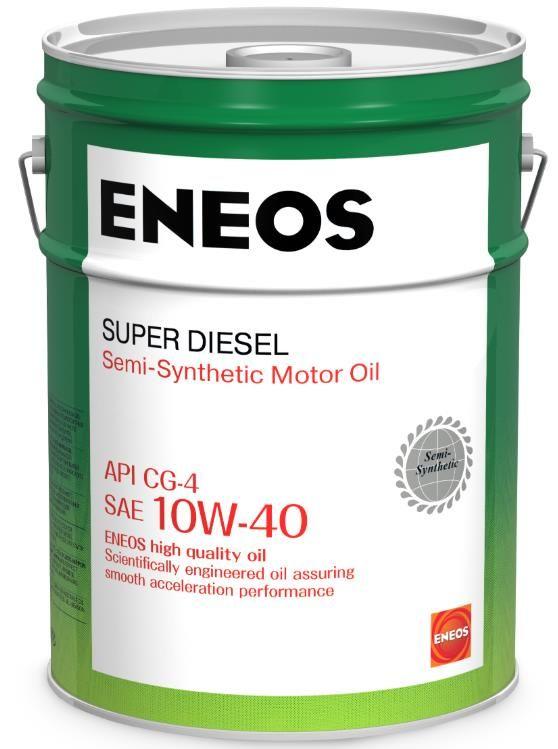 Масло моторное ENEOS Super Diesel CG-4 п\синт 10W40 20л