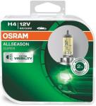 Автолампа OSRAM  H4 ALLSEASON +30%  (2шт)
