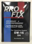 Моторное масло Profix 0W16  4л