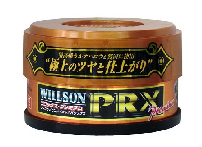 Полироль ПРЕМИУМ-класса с эффектом мокрого блеска Willson PRX, 140гр