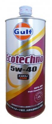 Моторное масло GULF Ecotechno SAE 5W-40 (1л)
