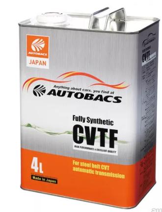 Жидкость трансмиссионная  AUTOBACS CVTF  Fully Synthetic  (4л)