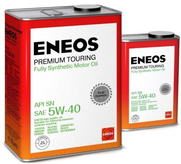 Масло моторное ENEOS Premium TOURING SN 5W40  4+1л=5л