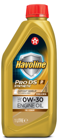 Моторное масло TEXACO HAVOLINE PRODS P 0W30 1л