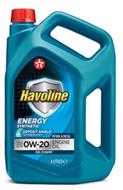 Моторное масло TEXACO HAVOLINE ENERGY 0W20 4л