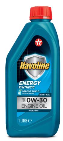Моторное масло TEXACO HAVOLINE ENERGY 0W30 1л