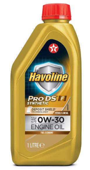 Моторное масло  Texaco Havoline ProDS F 0W30 1л