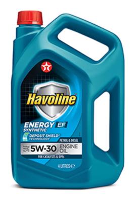 Моторное масло TEXACO HAVOLINE ENERGY EF 5W30 4л