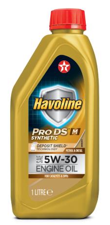 Моторное масло TEXACO HAVOLINE PRODS M 5W30 1л