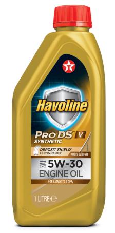 Моторное масло  TEXACO HAVOLINE PRODS V 5W30 1л