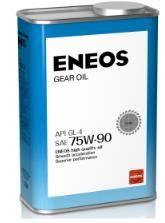 Трансмиссионное масло ENEOS GEAR GL-4 75W90 1л